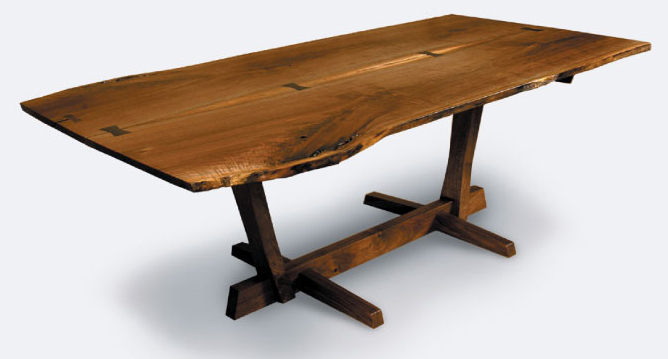 nakashima dining table plans