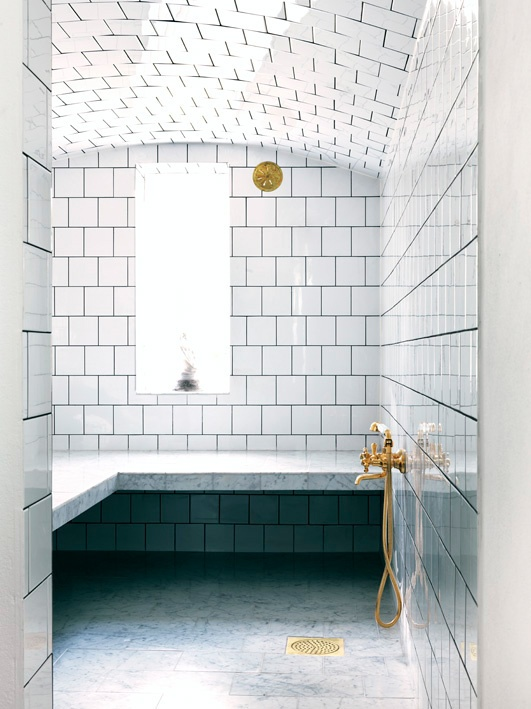 Super Stunning Showers | ingerstedt.se | Featured on Design-Vox.com