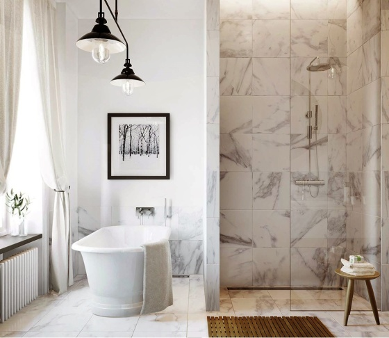 Super Stunning Showers | karlavagen76.se | Featured on Design-Vox.com