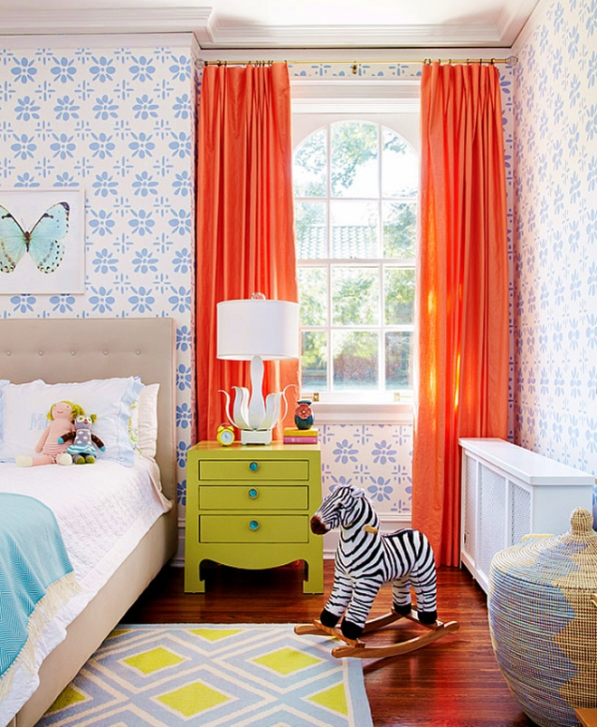 Color Palettes for Kid's Rooms | amiecorley.com | Featured on Design-Vox.com