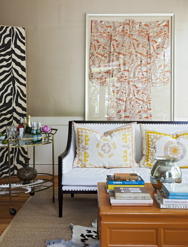 Pretty Patterned Decor | lonny.com | Featured on Design-Vox.com
