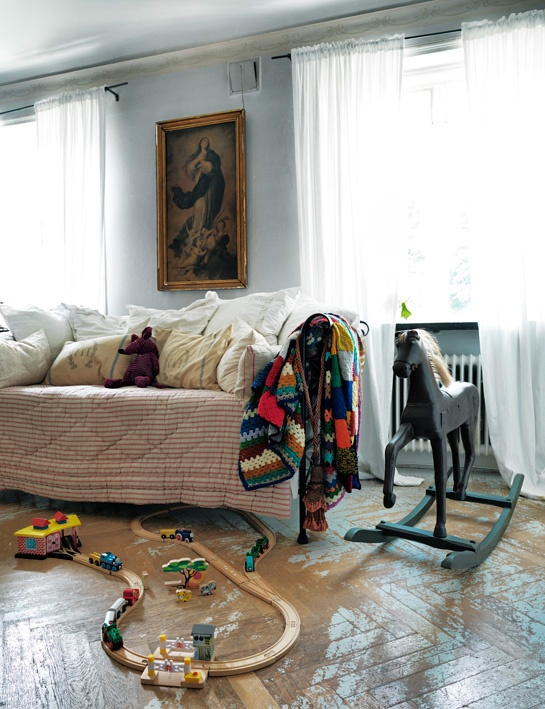 Inspiring Children's Rooms | ingerstedt.se | design-vox.com