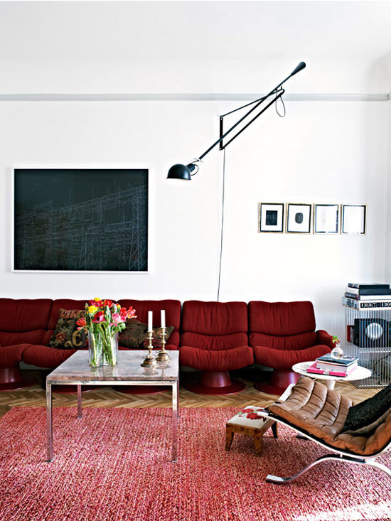 Balanced Eclectic Living Rooms | ingerstedt.se | design-vox.com
