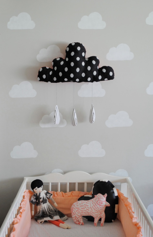 Trendy & Cute Children's Rooms | mermagblog.com | design-vox.com