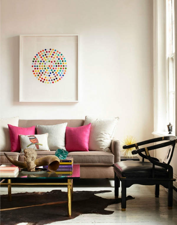 Living Rooms from Soft to Bold | sarahcave.com | design-vox.com