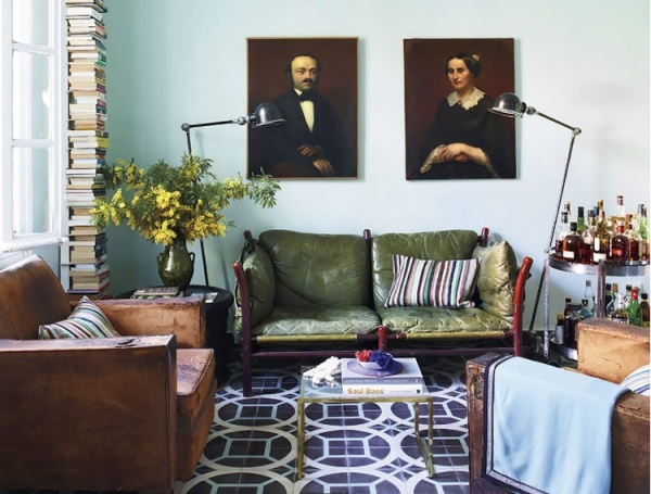 Living Rooms with Personality | elledecor.com | design-vox.com
