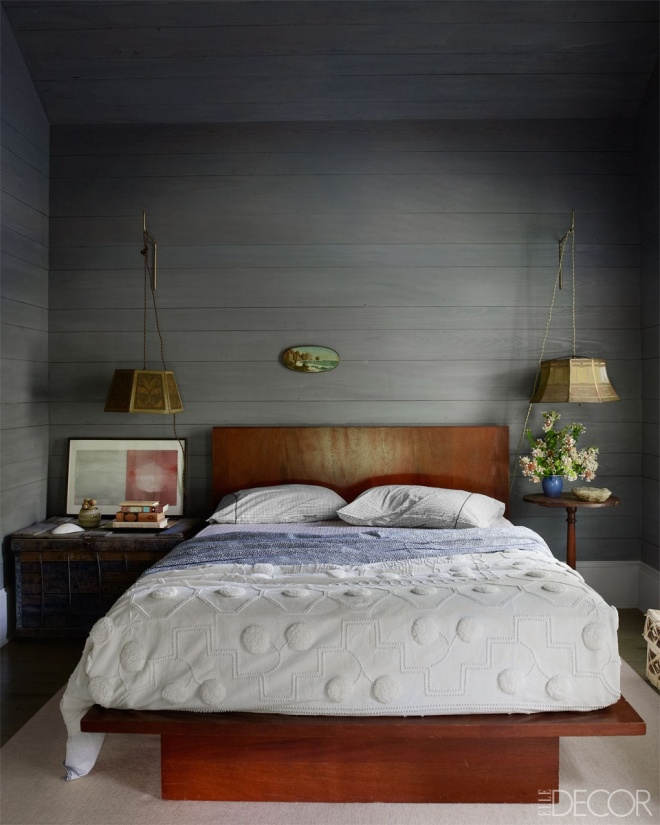 Simple Chic Bedrooms | elledecor.com | design-vox.com