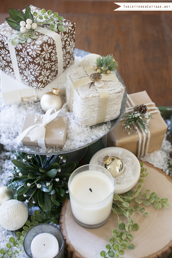 Christmas Tabletop by The Lettered Cottage