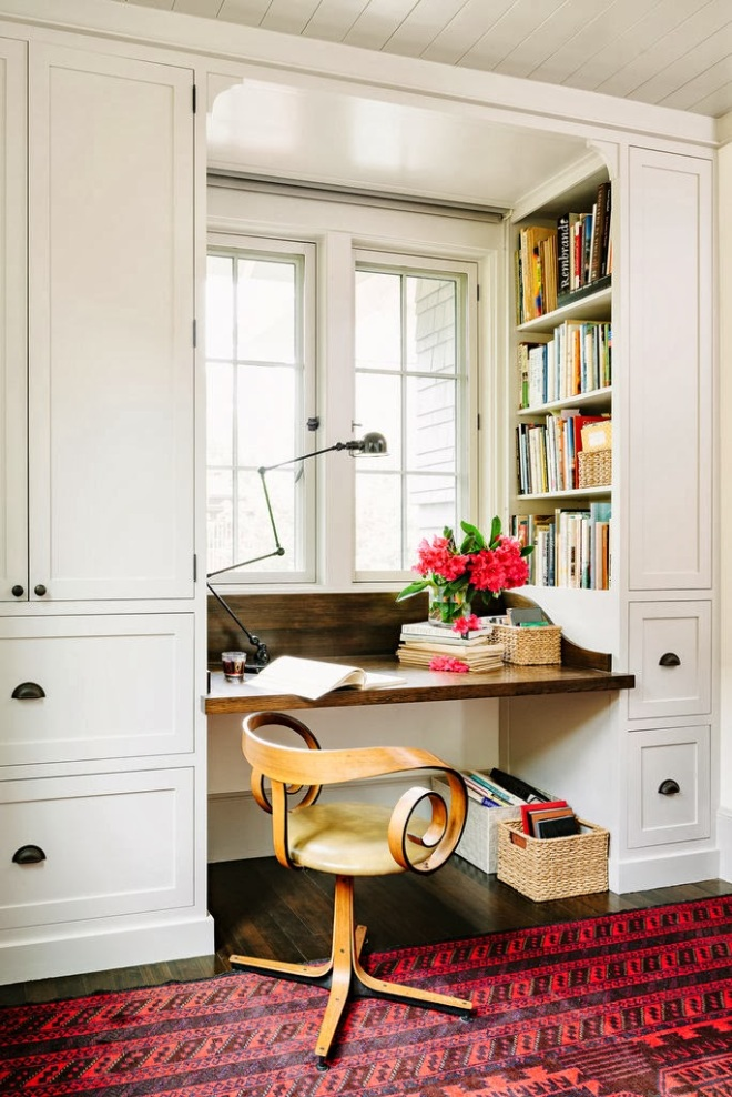 Home Office Dreaming on a Snowy Day | jhinteriordesign.com | design-vox.com