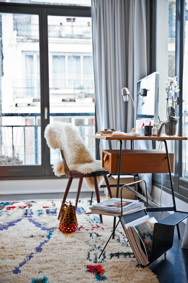 Home Office Dreaming on a Snowy Day | milkmagazine.net | design-vox.com
