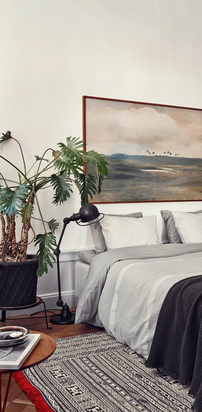 Ideas For A Beautiful Bedroom | cameralink.se/artists/idha-lindhag | design-vox.com