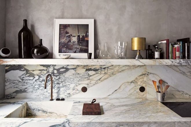 The Versatility of Marble | nytimes.com | design-vox.com