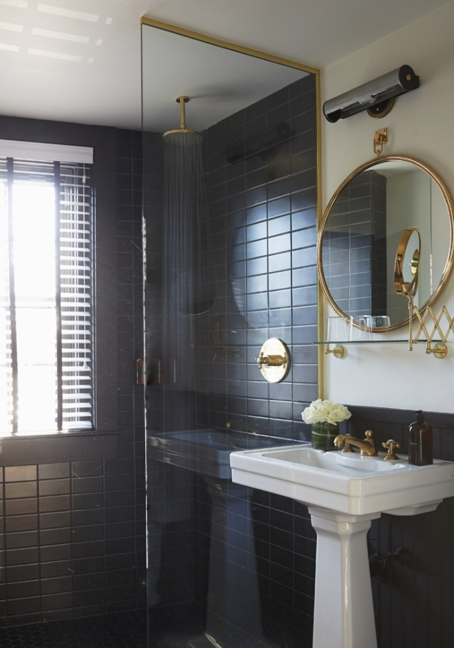 Super Glam Bathrooms | thedeanhotel.com | design-vox.com