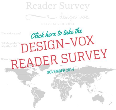 Design-Vox Reader Survey Nov 2014