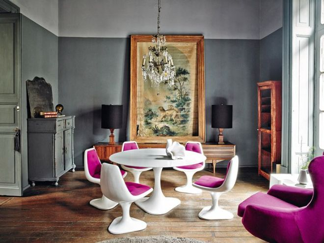 Boldly Awesome Dining Rooms | dirkjankinetinteriors.tumblr.com | design-vox.com