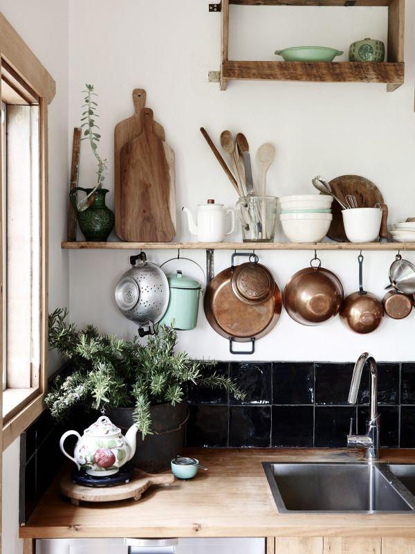 Chic Rustic Kitchens | style-files.com | design-vox.com