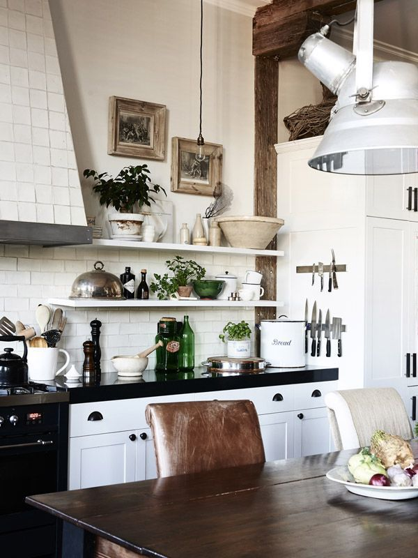 Chic Rustic Kitchens | design-vox.com